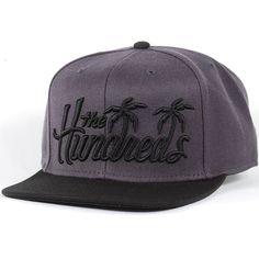 The Hundreds Palms Snapback Hat (Black) $27.95