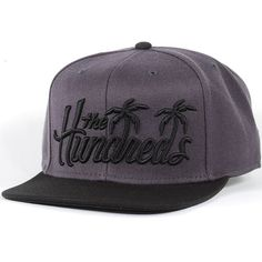 The Hundreds Palms Snapback Hat (Black) $27.95