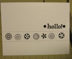 simple stampin up