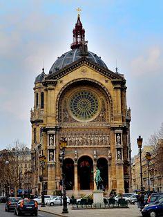 St. Augustin, 1860-71, Paris / Victor Baltard