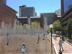 Sway'd' Interactive Public Art Installation in Salt Lake City, Utah by Daniel Lyman