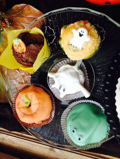 Halloween-leivoksia. Lokakuu 2014. #Kontionkahvila @VisitRauma
