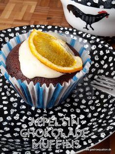 En fodmapvenlig svampet chokolademuffin, med et friskt strejf af appelsin. En klassisk chokolademuffin med et twist også endda glutenfri.