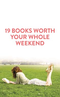 19 books to read over the weekend