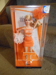 2012 New University of Tennessee Cheerleader Barbie Doll Pink Label | eBay