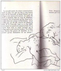 jean cocteau le livre blanc collection pierre berge messine 1983 43 dessins erotiques de l'auteur