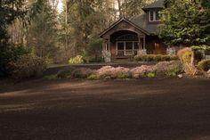 Woodinville Backyard Drainage Project Ends in Restoration - Washington Lawns Lawn Restoration, Backyard Drainage, Lawns, Eco Friendly, Washington, Cabin, Landscape, House Styles, Amazing