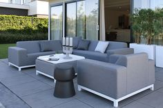 category Hoekbank met Loungestoel Devane Grey Flanel Fonteyn 701509-31