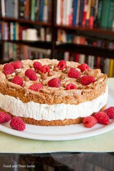 Food and Then Some: Italialainen raparperi-juustokakku / Italian Rhubarb Cheesecake