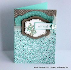Stampin' Up! Sweet Sorbet & You're Lovely Card Making Inspiration, Making Ideas, Ppr, Friendship Cards, Mothers Day Cards, Scrapbook Cards, Scrapbooking, Cards For Friends, Pretty Cards