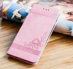 High Quality Leather Flip Cover Wallet Case for Iphone X and Other Models - for 6 6S / Pink