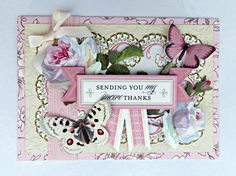 ©Anna Griffin, Inc. Floral Impressions Card Making Kit- this crafting kit includes everything you need to make 48 beautiful cards for every occasion!