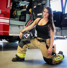 From the worlds hottest firefighter Gunn Narten to lesser known female firefighters these 13 beauties are bringing al.