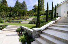 Gilbert Henchoz - Jardin privé, Restanques – Cologny