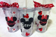 minnie+mouse+party+cricut | Cute Personalized Cups minnie-mouse-classic | Cricut & Paper Crafting