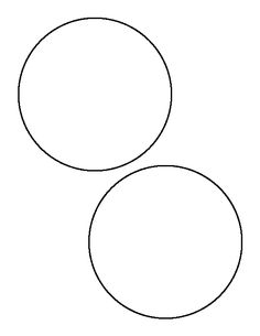 6 inch circle pattern use the printable outline for for Circle templates to print