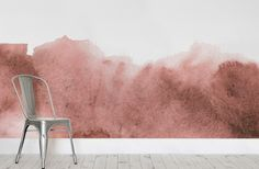 """Neat and quite """"messy"""" is somehow incredibly mixed together in the Red Grunge Fading Paint Wallpaper Mural. For that grunge look that will instill that """"cool"""" effect, this wallpaper is easily a very solid option for any homeowner. The canvas is equally divided in the middle by white and various tones of red for a subdued and yet eye-catching effect. Homeowners can utilize the wallpaper to bring forth a relaxing effect in the bedroom or as a calming atmosphere in the study. The combination…"""