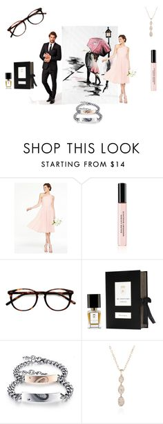 """""""romance love"""" by mariapizzuto on Polyvore featuring Ralph Lauren, Ace, Re Profumo e Augustine Jewels"""