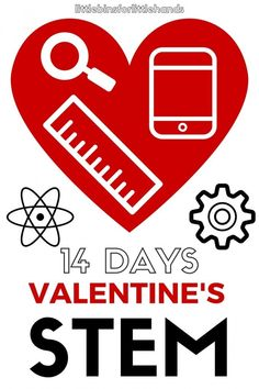 Countdown to Valentine's Day with 14 Valentines Day STEM activities and challenges for kids. Explore STEM and STEAM this Valentine's Day with science, technology, engineering, art, and math activities for young kids. Start STEM young. These Valentine's Day science and STEM activities are perfect kindergarten through grade school. Inexpensive materials and simple supplies, the Valentine's activities can be done at home or school.