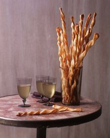 Homemade Cheese Straws are great for dipping! Try them with our Artichoke Parmigiano Reggiano® cheese dip: http://www.parmesan.com/recipes/artichoke-parmesan-dip-recipe/41/.