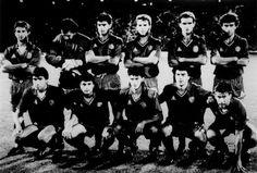 EQUIPOS DE FÚTBOL: SELECCIÓN DE ESPAÑA contra Hungría 11/10/1989