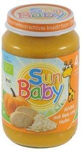 Baby Sun obiadek +4m DYNIA & KURCZAK 190g Jar, Food, Eten, Jars, Meals, Drinkware, Diet
