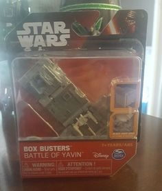 Star Wars Box Busters Battle of Yavin Spin Master  Collection  #SpinMaster