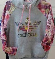 Moletom Floral Adidas