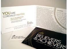 Believers & Achievers Gala Invite on Behance