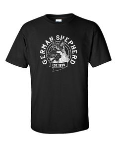 German Shepherd T Shirt Gift Pet Owners Dog Puppy by 969Tshirts