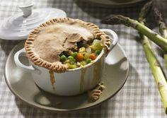 Vegetable Pot Pies | Vegetarian Times