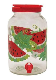 @ Jeannette....type of sun tea jar....