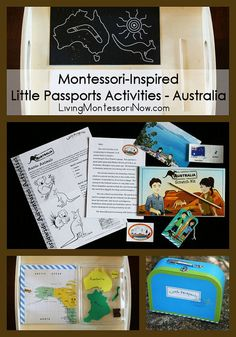 Montessori-Inspired Little Passports Activities - Australia {+ Little Passports Holiday Special & Giveaway} #Montessori #homeschool