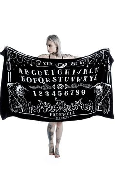 Beach Bored Towel by KILLSTAR. Available online now!