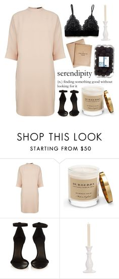 """""""Black and Pinky Beige Serendipity"""" by kimmytoast ❤ liked on Polyvore featuring Alexander Wang, Burberry, Isabel Marant, Juliska, women's clothing, women's fashion, women, female, woman and misses"""