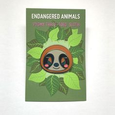 They can only be found on an isolated island: Isla Escudo de Veraguas. They are endangered due to this very restricted habitat. These are hard enamel pins made with black metal zinc.