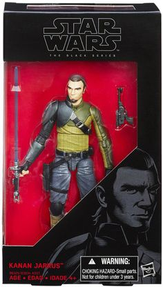Star Wars The Black Series 6 Inch Kanan Jarrus