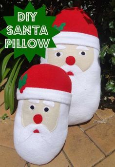 This free sewing project shows you how to create an adorable Santa cushion. It is perfect for snuggling up next to whilst you sing Christmas carols or use it for a decoration or Christmas gift.