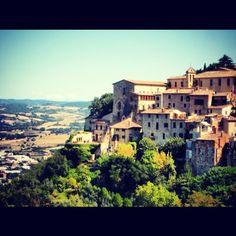 Todi, Italy.  In the heart of Tuscany.  I adored it!!