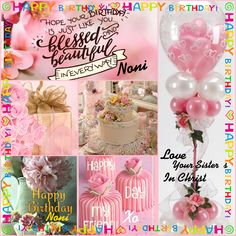 Happy Birthday Messages, Birthday Greetings, Happy Day, I Am Happy, April Images, Love Your Sister, Sisters In Christ, Love You All, Collages