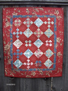 Mini Ninepatch Quilt by wichcraft, via Flickr