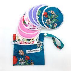 Beautiful reusable nursing pads, softness of bamboo!