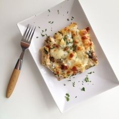mushrooms, spinach and chicken baked penne