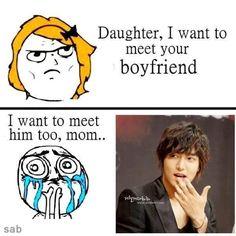 Lol yeah I wish but Lee Min Ho ahah