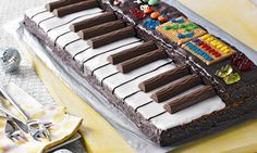 Keyboard-Kuchen Rezept | Dr.Oetker