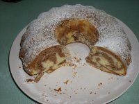 Bábovka ze zakysané smetany Pancakes, Cheesecake, Bread, Baking, Breakfast, Ethnic Recipes, Sweet, Morning Coffee, Candy