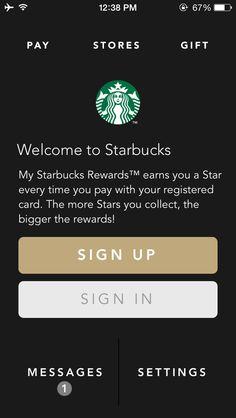Starbucks sign in
