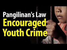 Child criminals are not afraid of the police because of Pangilinan's law ~SHARE - WATCH VIDEO HERE -> http://dutertenewstoday.com/child-criminals-are-not-afraid-of-the-police-because-of-pangilinans-law-share/   News video courtesy of The Storyteller YouTube channel  Disclaimer: The views and opinions expressed in this video are those of the YouTube Channel owners and do not necessarily reflect the opinion or position of the site owners/FB admins.