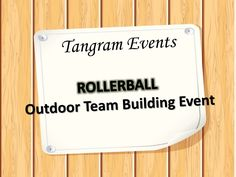 Now inspire your team members to do more team work with some amazing fun team building activities. Rollerball is amazing team building activity. Outdoor Team Building Activities, Team Events, Getting To Know, Teamwork, Presentation, Watch, Clock, Bracelet Watch, Group Work