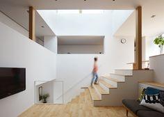 House in Hakusan by FujiwaraMuro Architects (Ishikawa, Japan).